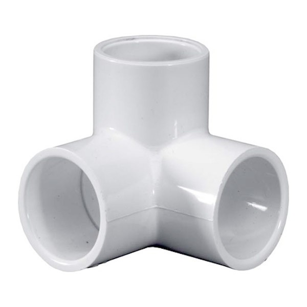 "1/2"" Schedule 40 PVC Side Outlet Elbow - Slip 413-005"