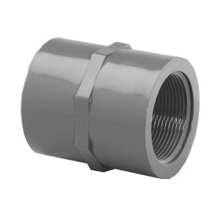 "1/4"" Schedule 80 PVC Female Adapter Slip x FIPT 835-002"