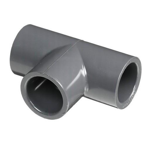 """1-1/2"""" Schedule 80 PVC Tee Slip 801-015"""