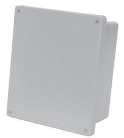 10x8x4 NEMA 4X Fiberglass Enclosure Lift-Off Screw Cover