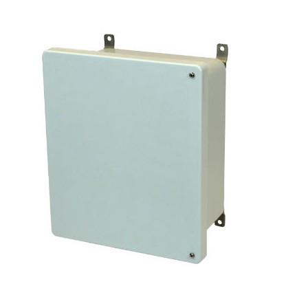 16x14x8 NEMA 4X Fiberglass Enclosure Hinged Screw Cover