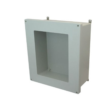 18x16x8 NEMA 4X Fiberglass Enclosure Lift-Off Screw Cover Window