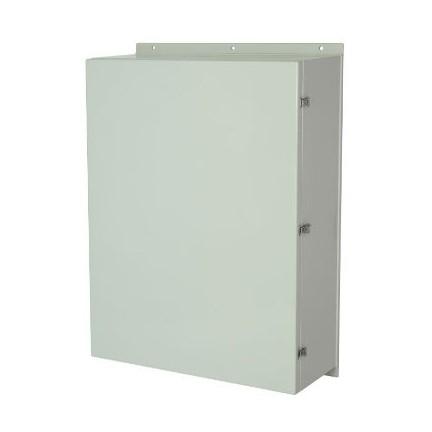48x36x16 NEMA 4X Wall Mount Fiberglass Enclosure Twist Latch Cover