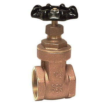 3/4 inch IPS Brass Gate Valve 01718501I