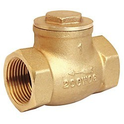 1-1/4 inch Brass Swing Check IPS 200 NSF 01739191L