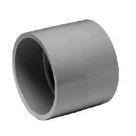 "6"" ChemDrain CPVC AW Coupling 10446"