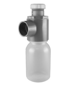 "1-1/2"" ChemDrain Jar Trap W/Tail Piece Adapter 10839"