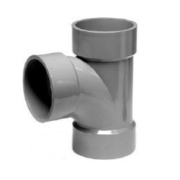 "1-1/2"" ChemDrain CPVC AW Sanitary Tee 10501"
