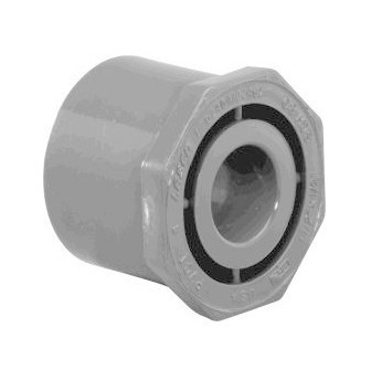 "3"" x 1"" Schedule 80 CPVC Bushing 9837-335FB"