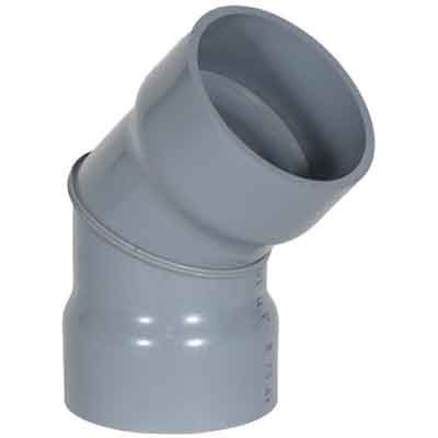 "4"" CPVC Duct 45 Degree Elbow 1834-45-04"