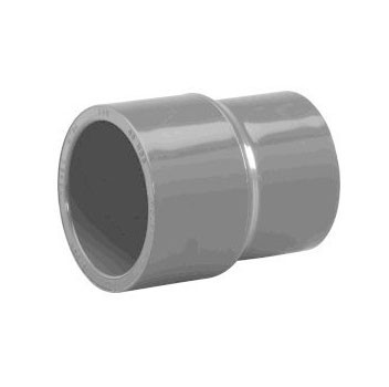 "1-1/2"" x 1/2"" Schedule 80 CPVC Coupling 9829-209FB"