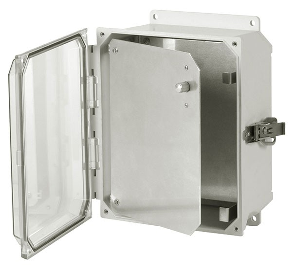 HFPU120 - Aluminum Enclosure Front Panel Kit