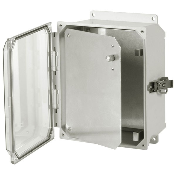 HFPU66 - Aluminum Enclosure Front Panel Kit