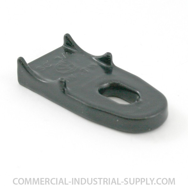 "1/2"" Ocal PVC Coated Clamp Back Spacer - CB1/2-G"