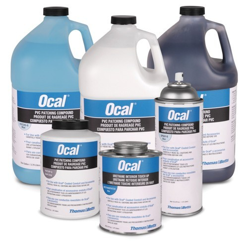 Ocal PVC Touch-Up Compound - Brush Cap Can 1 Pint