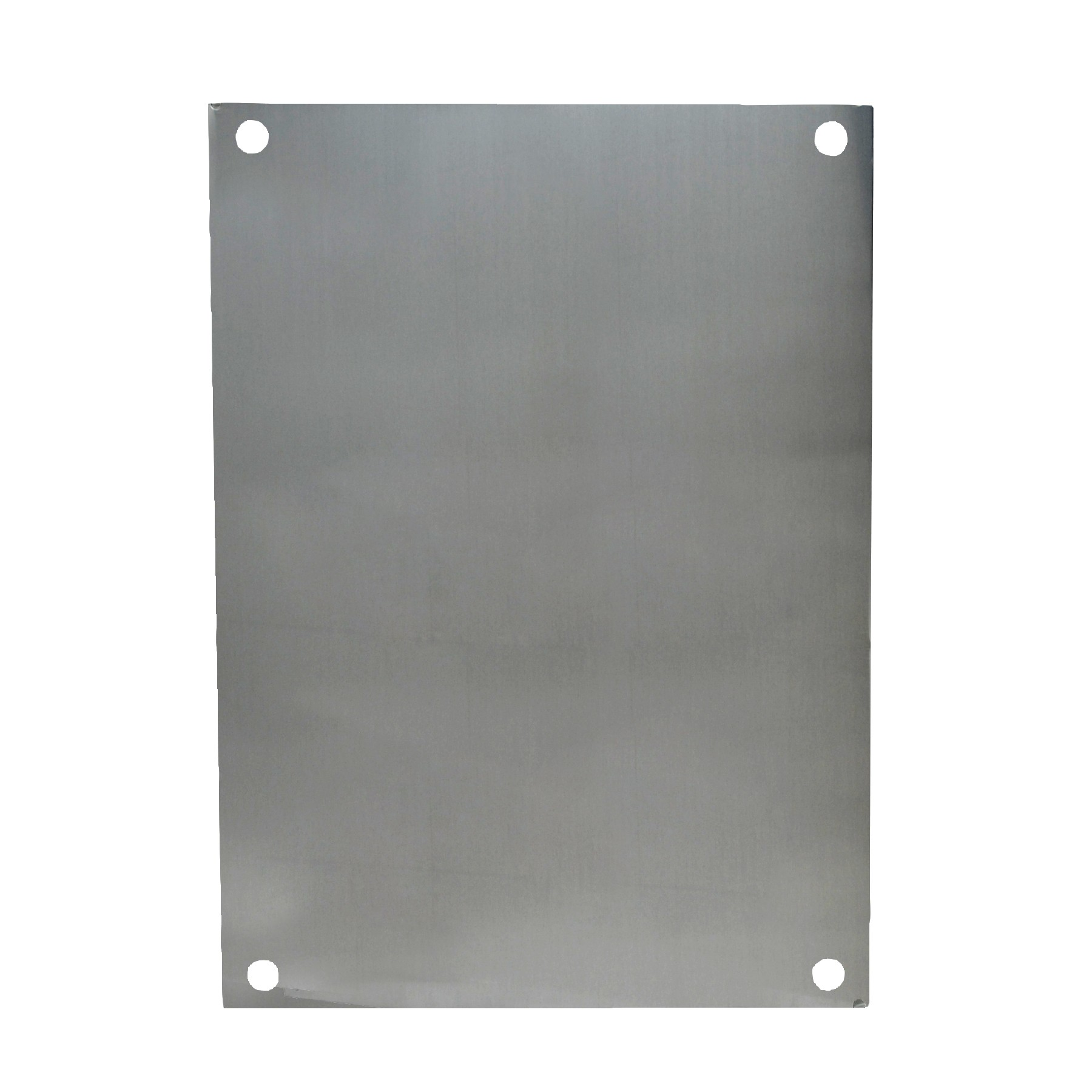 "Aluminum Back Panel for 10"" x 8"" Enclosures"