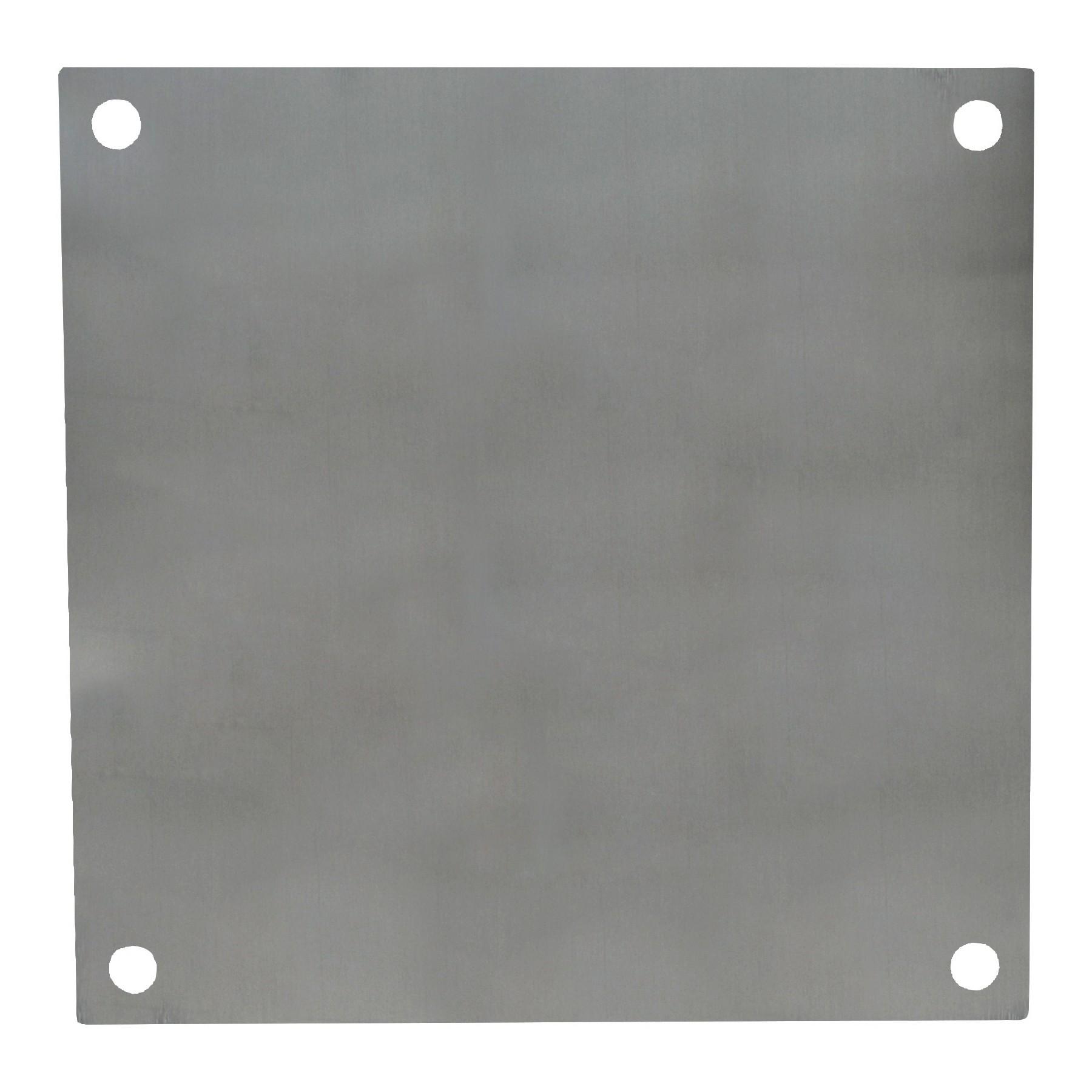 PA66 - Aluminum Enclosure Back Panel Kit