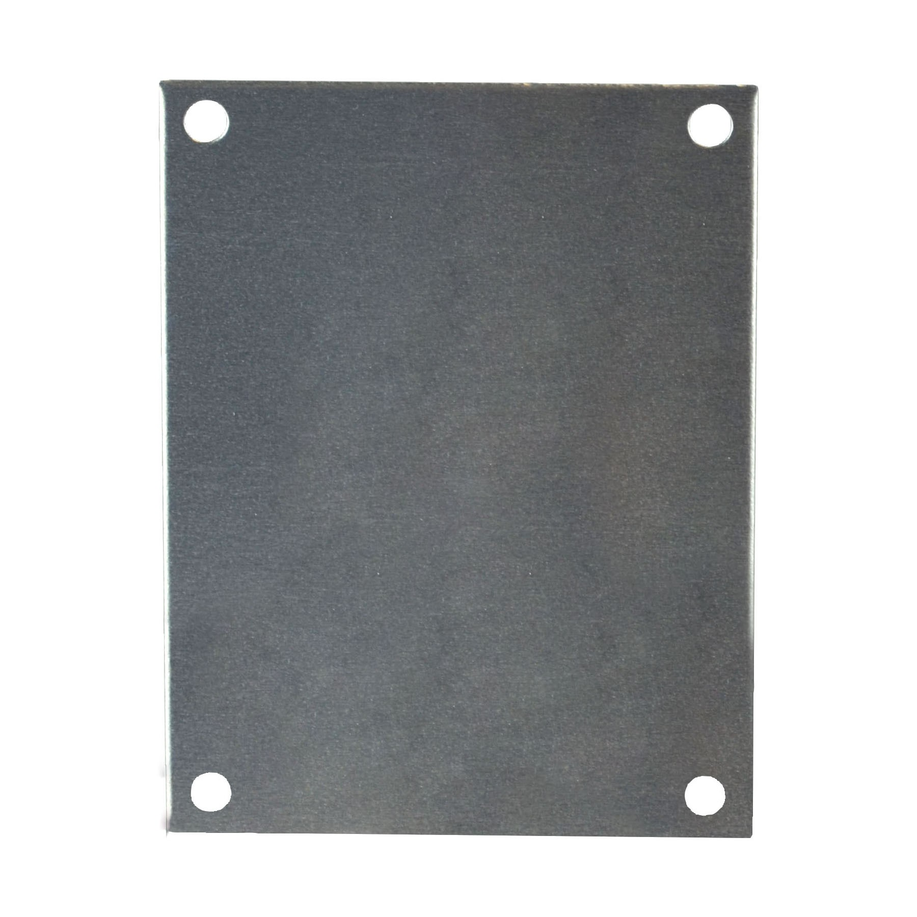 "Aluminum Back Panel for 7"" x 4"" x 3"" Enclosures"