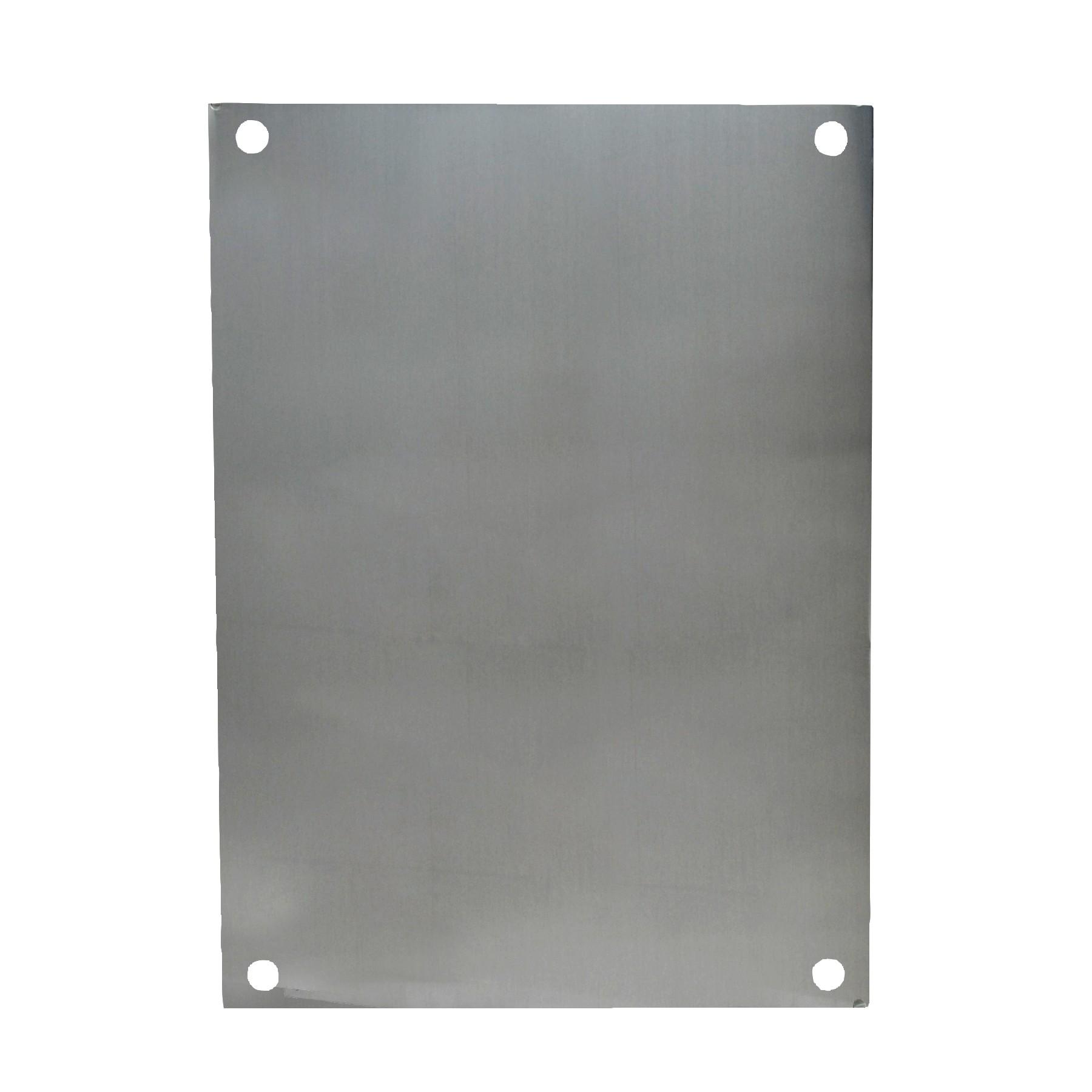 PA86 - Aluminum Enclosure Back Panel Kit