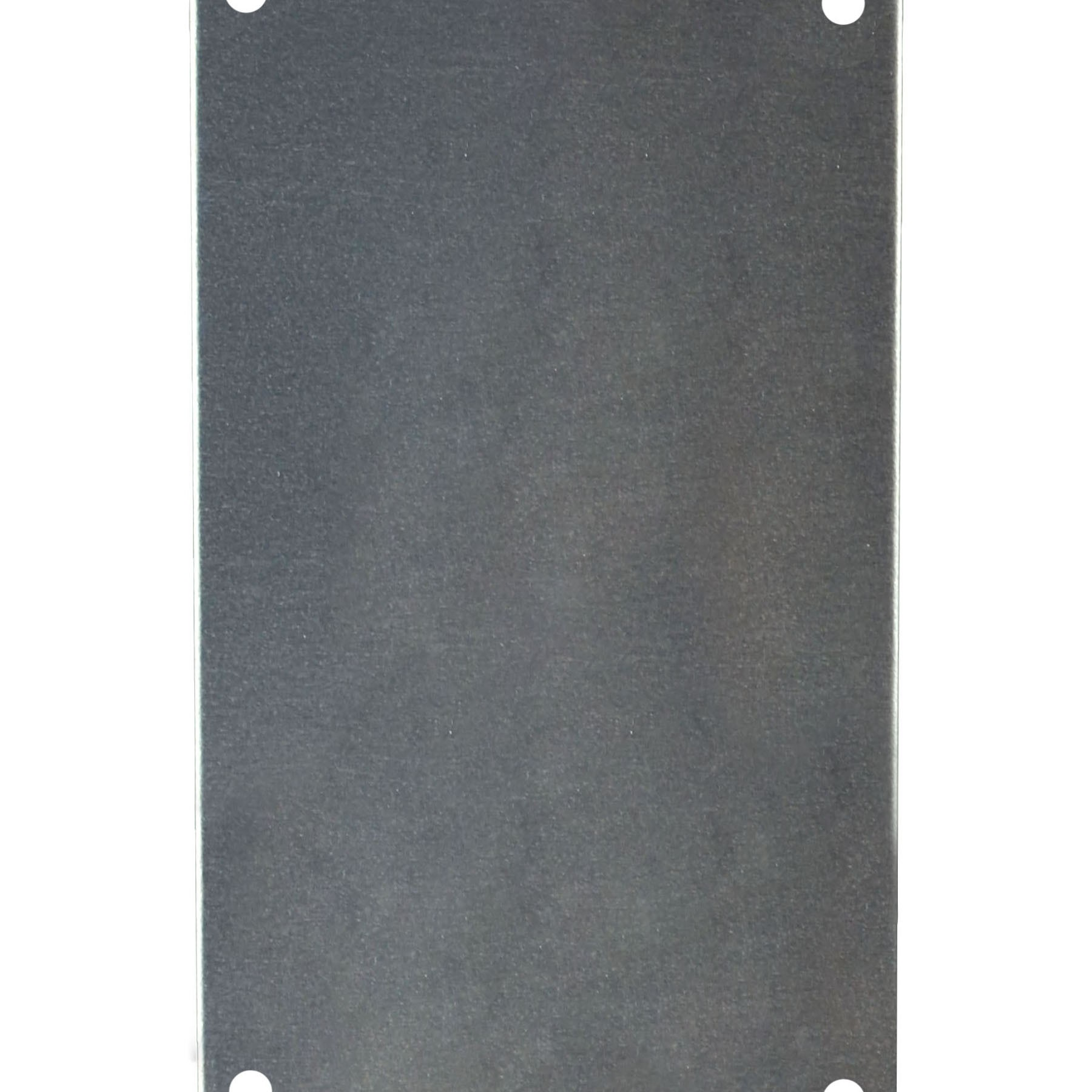 "Aluminum Back Panel for 9"" x 4"" x 3"" Enclosures"