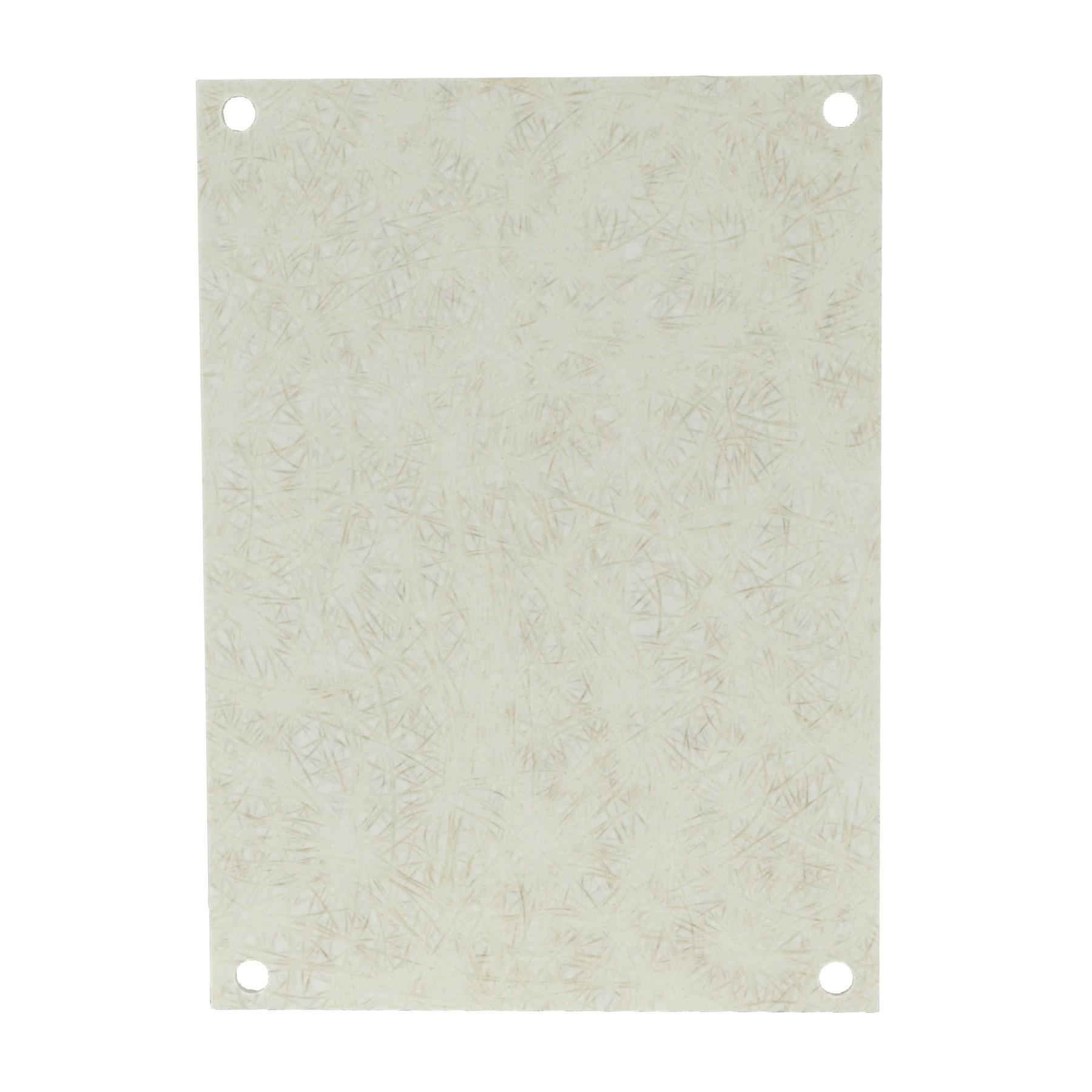 """Fiberglass Back Panel for 14"""" x 12"""" Enclosures"""