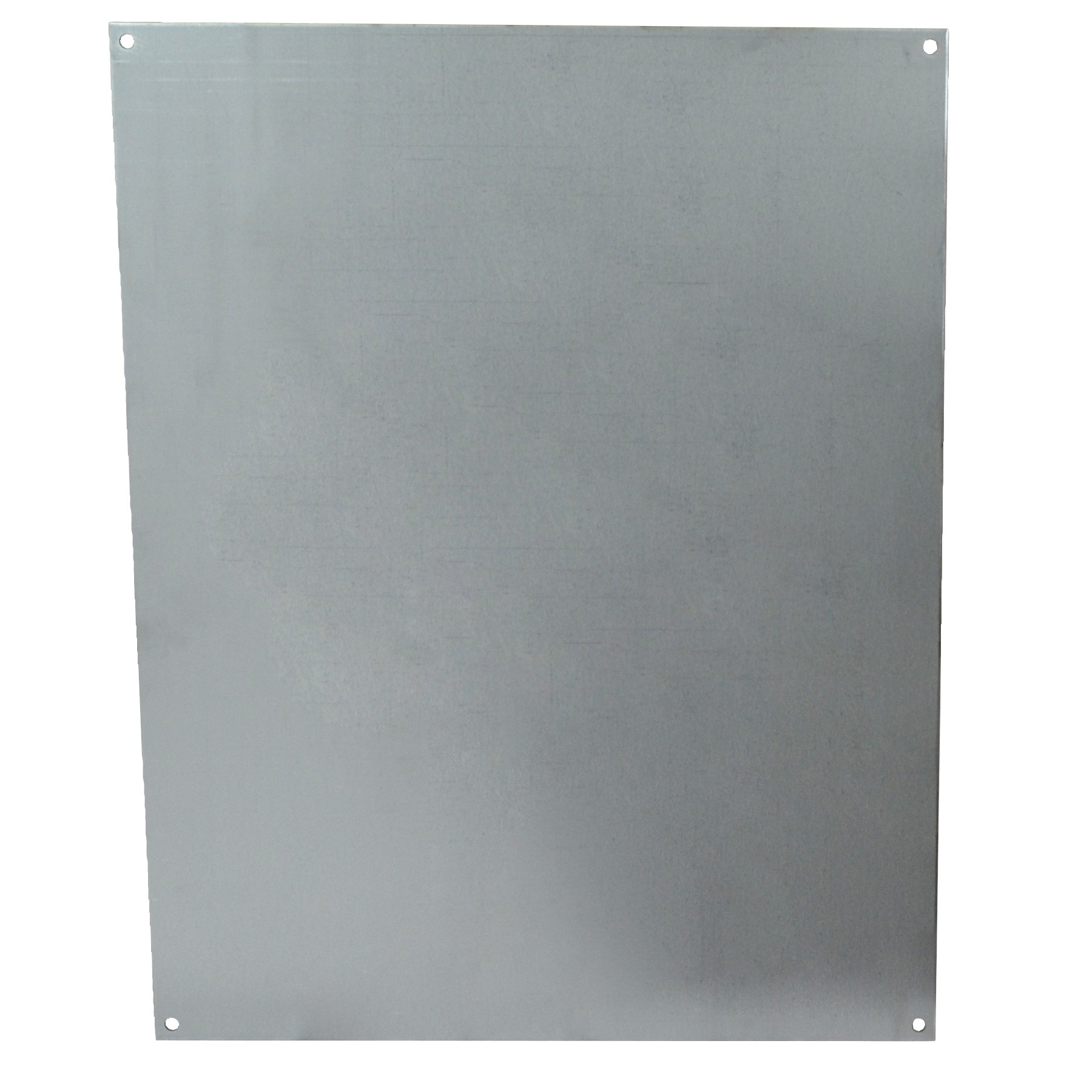 "Galvanized Back Panel for 20"" x 16"" Enclosures"