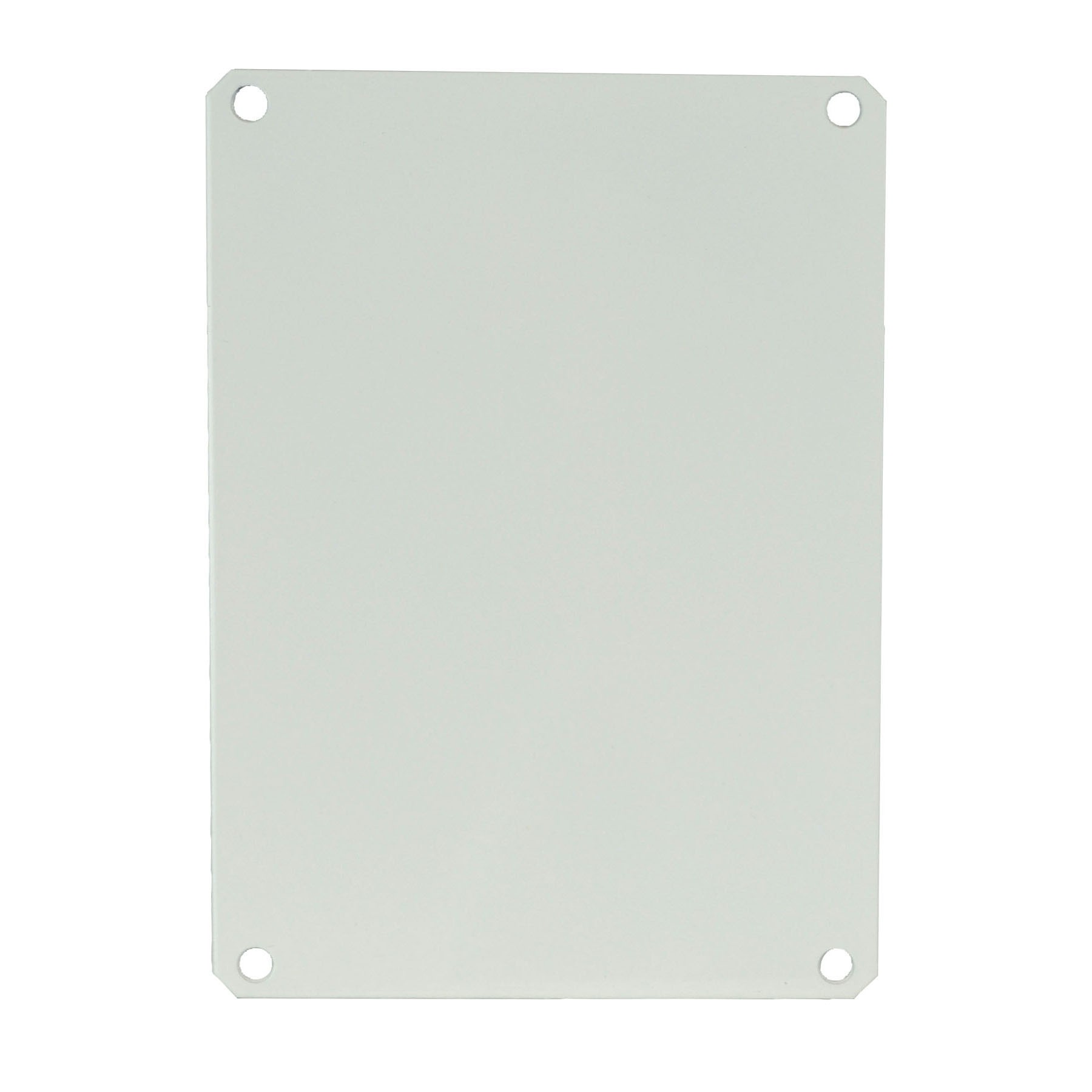 "Carbon Steel Back Panel for 8"" x 6"" Enclosures"