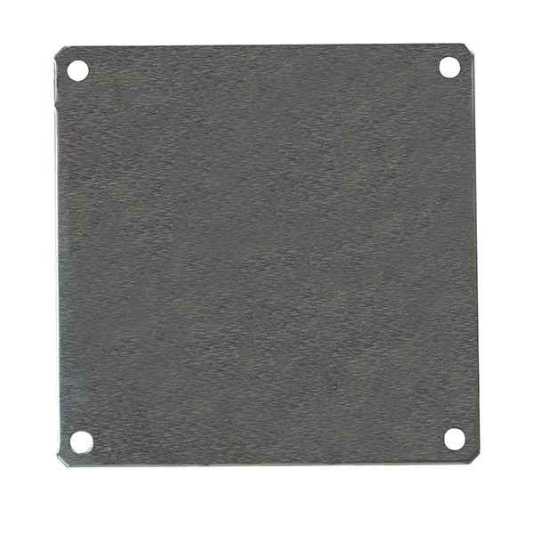 "Aluminum Back Panel for 8"" x 8"" Enclosures PLA88"