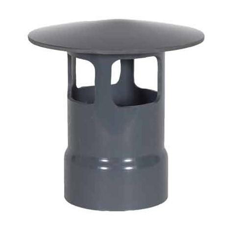 "5"" PVC Duct Style A Rain Cap 1034-WCA-05"