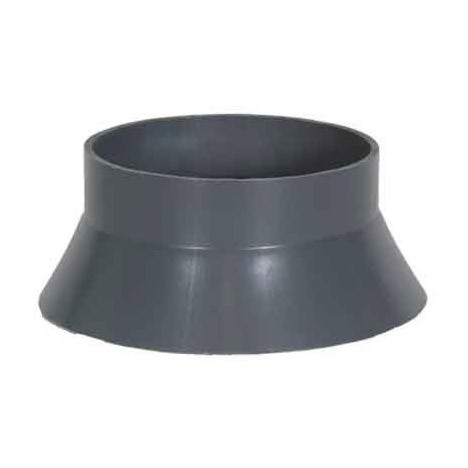 5 inch PVC Duct Rainskirt 1034-RS-05