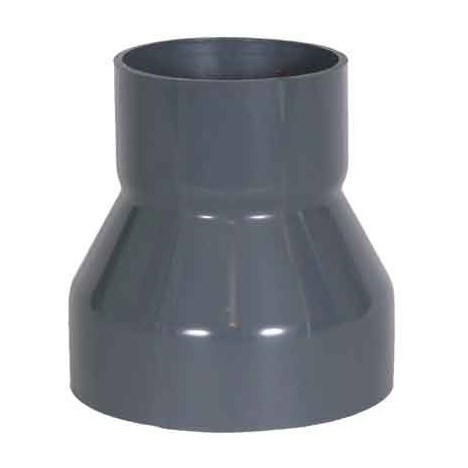 "8 x 4"" PVC Duct Rolled Reducer Coupling 1034-RCR-0804"