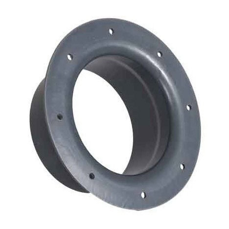 11 inch PVC Duct Socket Flange 1034-SF-11