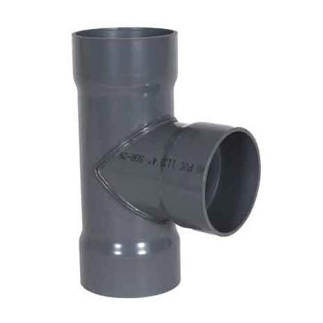 """4 x 4 x 4"""" PVC Duct Tee 1034-T-04"""