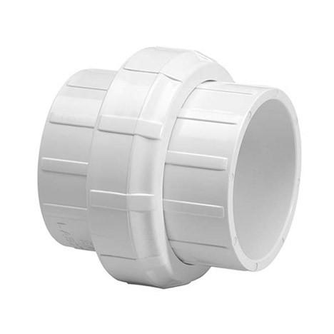 "1-1/4"" Schedule 40 PVC Union (Buna-n) - Slip x Slip 457-012"