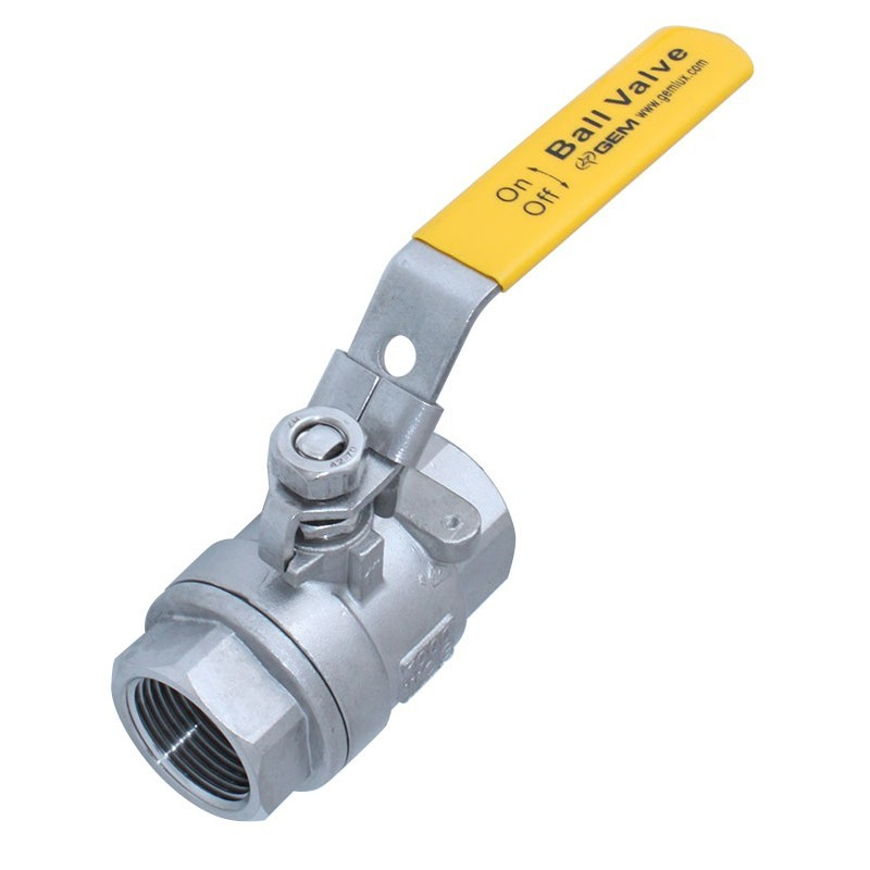1-1/4 inch Threaded SS Full Port Ball Valve