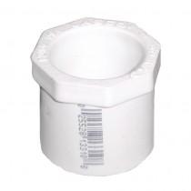 3/4 inch x 1/2 inch Sch 40 PVC Reducer Bushing - Flush - Spg x Slip 437-101
