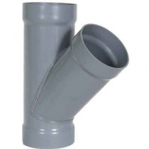 "16 x 16 x 12"" CPVC Duct Reducing Wye 1834-Y-1612"
