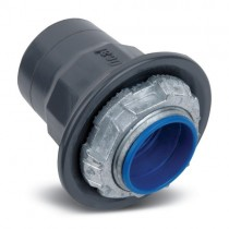 3/8 inch Ocal PVC Coated Steel Liquidtight Straight - ST3/8-G