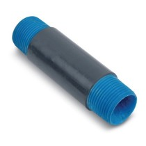 1/2 inch x Close Ocal Urethane Coated Nipple - CLNPL1/2-G