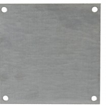 "Galvanized Back Panel for 6"" x 6"" Enclosures"