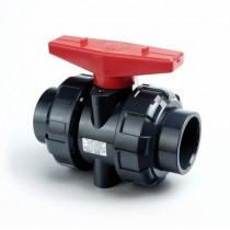 "1-1/4"" PVC True Union Ball Valve - NPT"