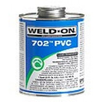 Weld-On 702 Fast Setting PVC Cement