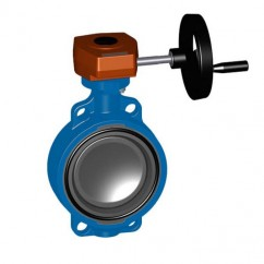 "12"" GF 563 Gear Operated Butterfly Valve 161563050"