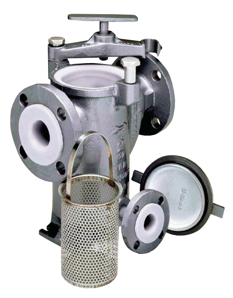 Eaton Model 72L Tefzel Plastic Lined Strainer