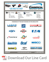 Commercial Industrial Supply Line Card