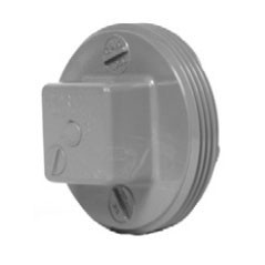 "4"" ChemDrain CPVC AW Cleanout Plug 10698"