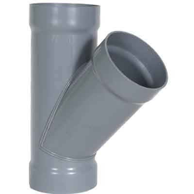 "8 x 8 x 4"" CPVC Duct Reducing Wye 1834-Y-0804"