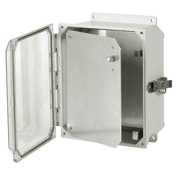HFPU108 - Aluminum Enclosure Front Panel Kit