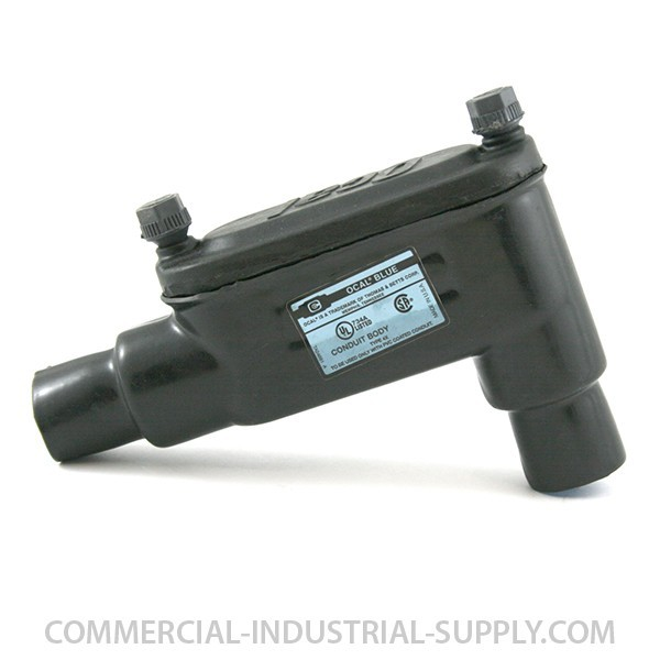 "4"" Ocal PVC Coated Type LB Fitting (Form 7) LB107-G"