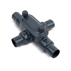 "2"" Ocal PVC Coated Type X Fitting (Form 8) X68-4X-G"